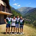 Cuatro corredores de 'Como Chotas Trail' de Hinneni Trail Running participarán en la Maratón Vielha-Molières 3010