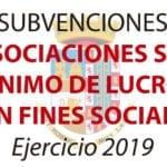 Mañana se abre el plazo para solicitar subvenciones a asociaciones con fines sociales