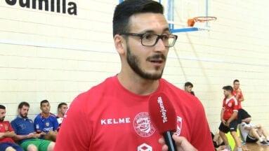 Lorenzo Martínez, entrenador del filial, dirigió la prueba