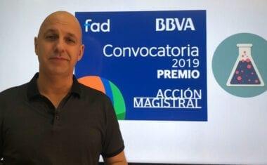 El profesor jumillano Andrés Carlos López Herrero ha sido seleccionado como finalista al Premio Acción Magistral 2019