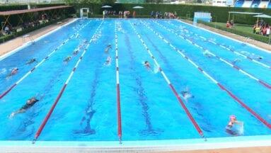 El Triatlón Ciudad de Jumilla es uno de los pocos de la Región de Murcia que cuenta con un sector de natación en una piscina de dimensiones olímpicas