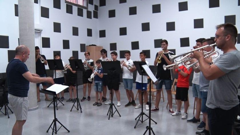 En el IV Encuentro de Trompetas han participado 14 alumnos, 10 de ellos de Jumilla