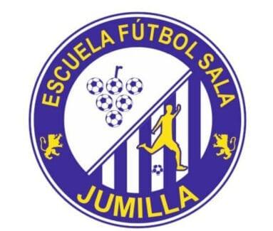 Escudo del nuevo Club Escuela de Fútbol Sala Base Jumilla Bodegas Carchelo