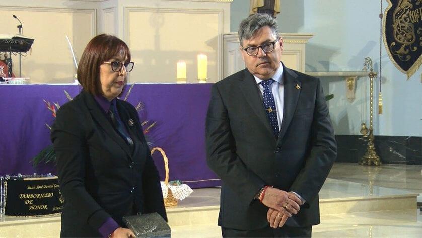 Juan Miguel García es elegido por aclamación presidente de la Cofradía del Ecce-Homo para un nuevo mandato