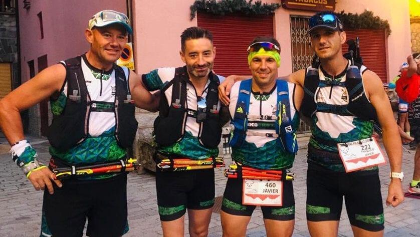 Los corredores de 'Como Chotas Trail' terminaron la III Trail Vielha-Molières 3010