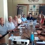 Reunión histórica en el Consejo Regulador con los alcaldes de los 7 pueblos que forman la Denominación  de Origen Jumilla