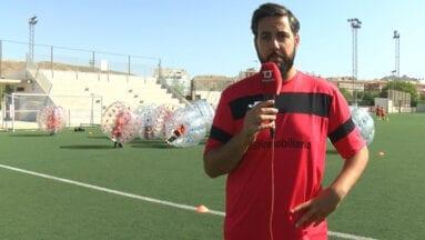 Sergio Campos responsable y uno de los organizadores del Campus de Fútbol Ciudad de Jumilla