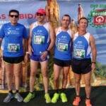 El Athletic Club Vinos DOP Jumilla tuvo a cuatro atletas en la XXXIII Subida al Santuario de Santa M.ª Magdalena