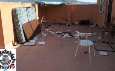 Cuatro heridos por arma blanca en una pelea en la localidad