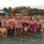 El Club Natación Jumilla puso su granito de arena en la III Travesía Solidaria Playas de la Azohía