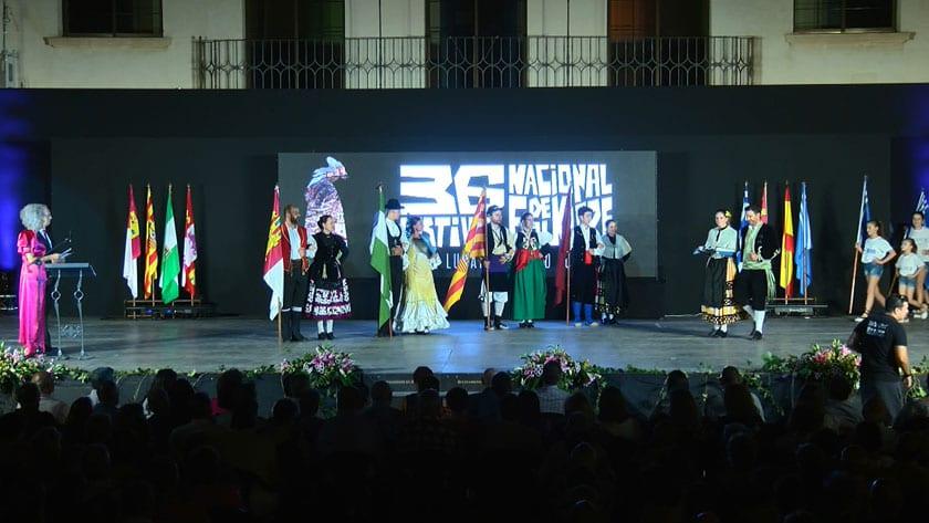 El sábado se realizó la Sesión Inaugural del Festival Nacional de Folklore Ciudad de Jumilla