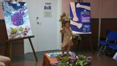 El Niño de las Uvas acompañó a todos los donantes
