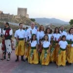 Las antorchas iluminaron el Castillo de Jumilla