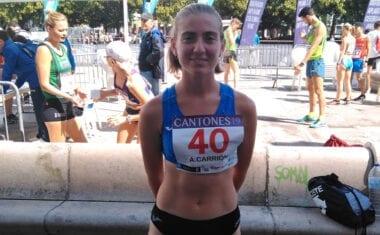 Ángela Carrión estará en el 99 Campeonato de España Absoluto de Atletismo al Aire Libre