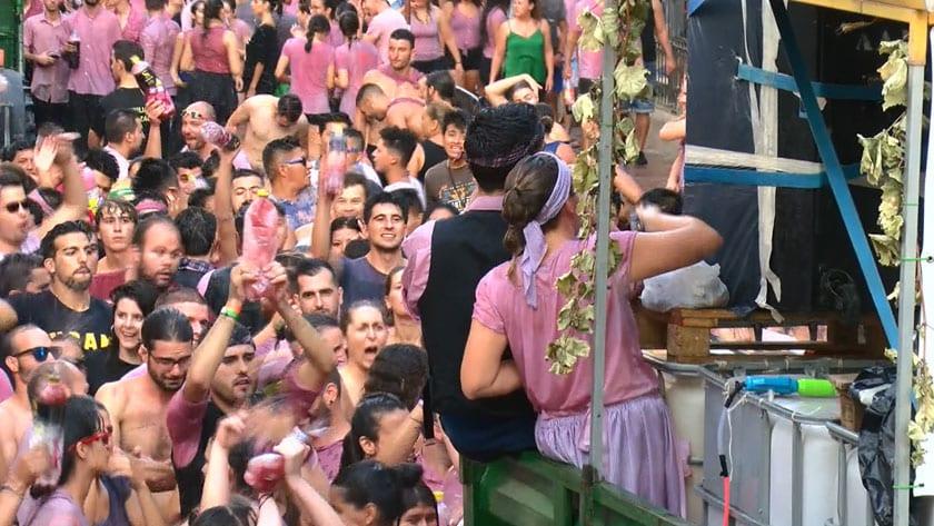 La participación de las Peñas fue de las más numerosas de las últimas ediciones