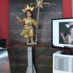 Mariano Spiteri ha restaurado la imagen del Niño de Mula