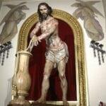 Misa de despedida al Cristo Amarrado a la Columna
