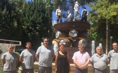 La Fuente del Vino 2019 une presente y pasado del trabajo del sector vinícola