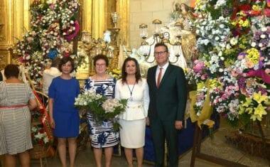La Patrona de Jumilla ya se encuentra en la iglesia Mayor de Santiago