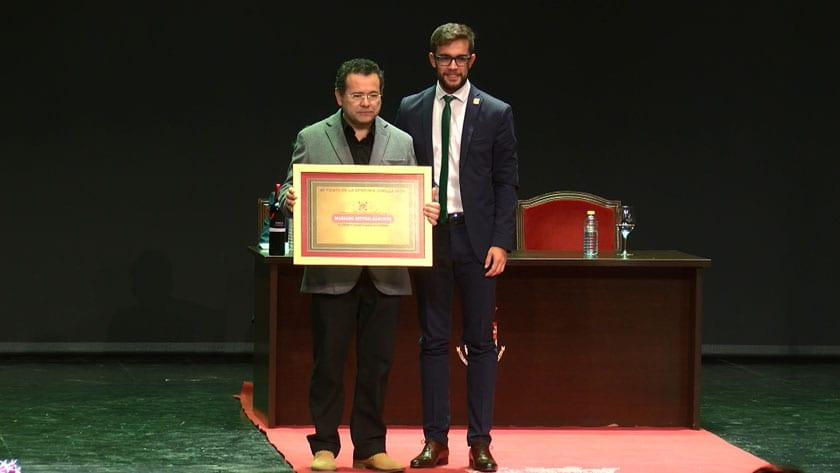 Premio a la Colaboración no Penera a Mariano Spiteri