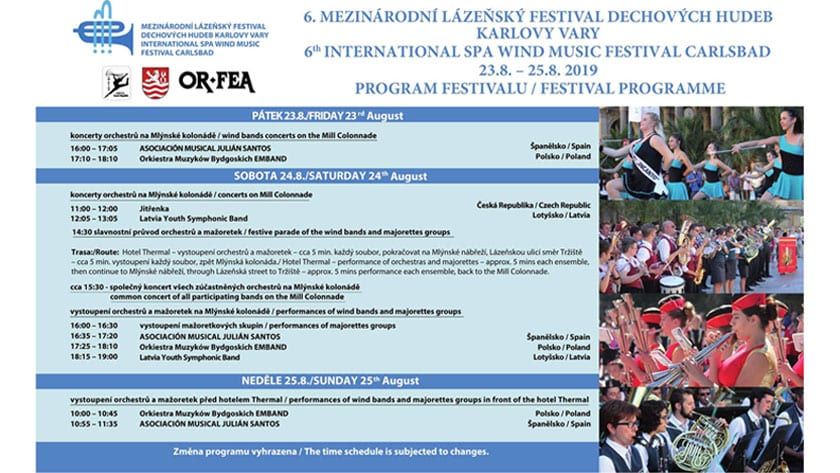 Programa del Festival Internacional de Karlovy Vary