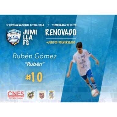 Rubén renueva con el Jumilla FS