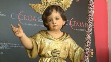 Se trata de una talla de 1940 del escultor valenciano José Ponsoda Bravo