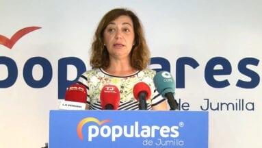 Seve González, portavoz y presidenta del Partido Popular de Jumilla