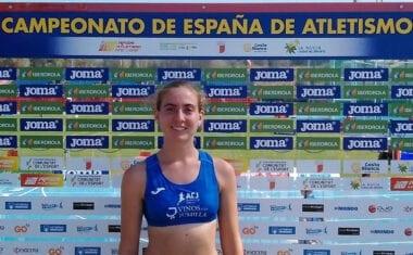 Notable actuación de Ángela Carrión en los 10.000 metros marcha en el Campeonato de España Absoluto de Atletismo