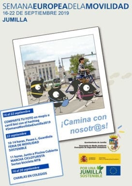 Cartel Semana Europea de la Movilidad