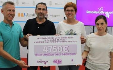La Fundación Síndrome de Dravet recibe 4.750 euros recaudados en los 10 Km Saludables
