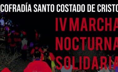La Cofradía del Santo Costado pone en marcha, en su IV edición, la Marcha Nocturna Solidaria
