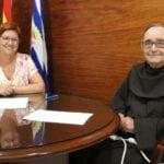 El Ayuntamiento firma convenio de 12.000 euros con el Convento de Santa Ana para la restauración de la imagen del Cristo Amarrado