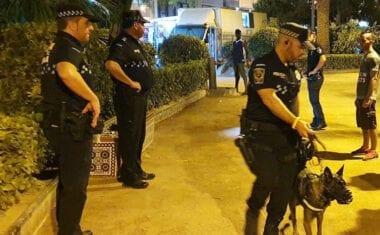 La Policía Local de Jumilla colabora en Los Alcázares tras el paso de la DANA