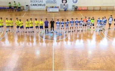 Debut con victoria para  los juveniles de la Escuela de Fútbol Sala Base Jumilla Carchelo