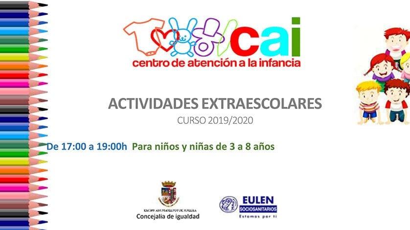 El Centro de Atención a la Infancia abre el plazo de inscripciones para actividades extraescolares