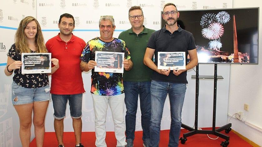Antonio Moreno, primer premio del Concurso de Fotografía Fuegos Artificiales 2019