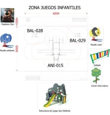 Nueva zona de juegos Paseo Lorenzo Guardiola