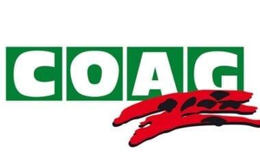 COAG organiza una Jornada Informativa para esta tarde a las siete y media en el Roque Baños