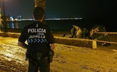 Policía Local Jumilla y Protección Civil Jumilla estuvieron ayudando en zonas de la Región afectadas por la DANA