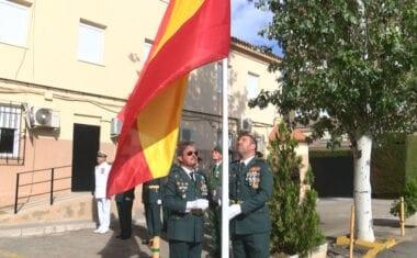 La Guardia Civil conmemoró a su patrona Nuestra Señora del Pilar
