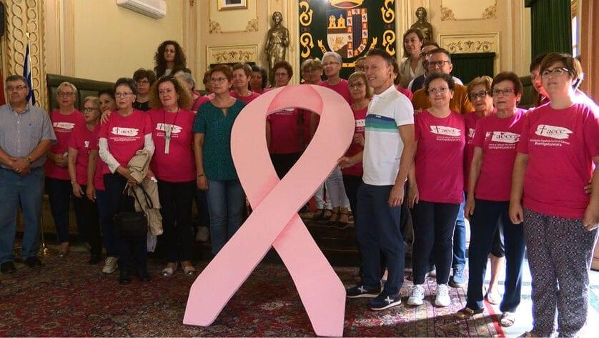 El domingo finalizan las actividades organizadas por el Día contra el Cáncer de Mama