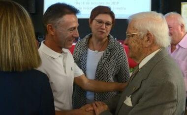 Miguel Marín Padilla recibe una mención por toda su carrera científica