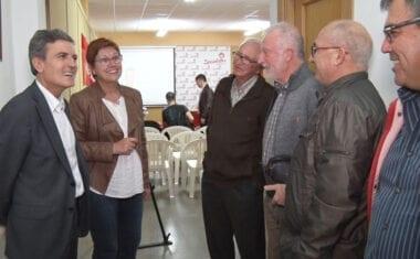 Pedro Saura visita Jumilla para movilizar a los votantes del PSOE