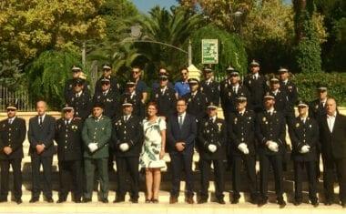 La Policía Local celebra la festividad de los Ángeles Custodios con un acto institucional