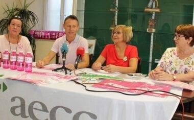 Salubridad y AECC presentan las actividades por el Día contra el Cáncer de Mama