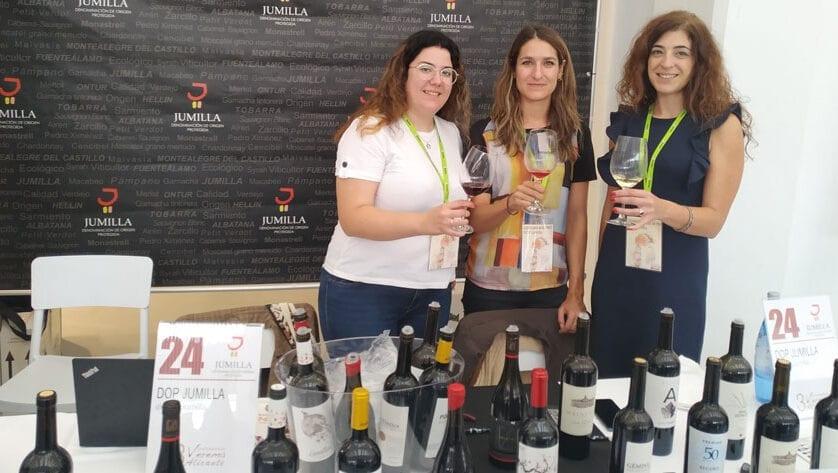 Cata de los oros del 25 Certamen de Calidad Vinos DOP Jumilla en Verema Alicante