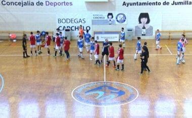 Los juveniles de la Escuela de Fútbol Sala Bodegas Carchelo pasan por encima de Bullas