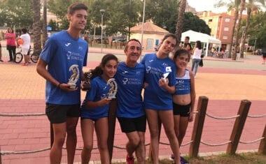 Cuatro puestos de podio para el Athletic Club Vinos DOP Jumilla en la 33 Milla Urbana Ciudad de Mula