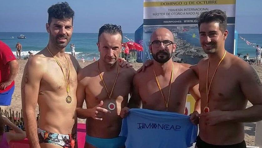 El Club Natación Jumilla estuvo en la última prueba de la temporada de Aguas Abiertas